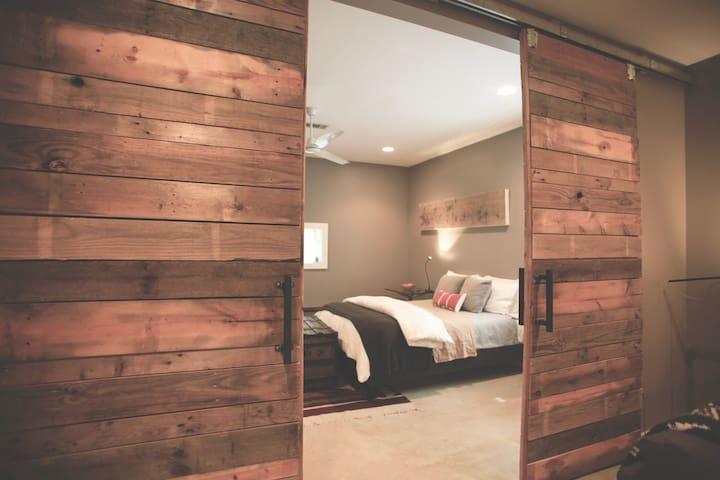 Contemporary design + comfort in private apartment