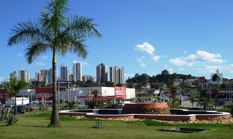 Best neighborhood. Walking distance  Colinas Mall. - São José dos Campos - Wohnung