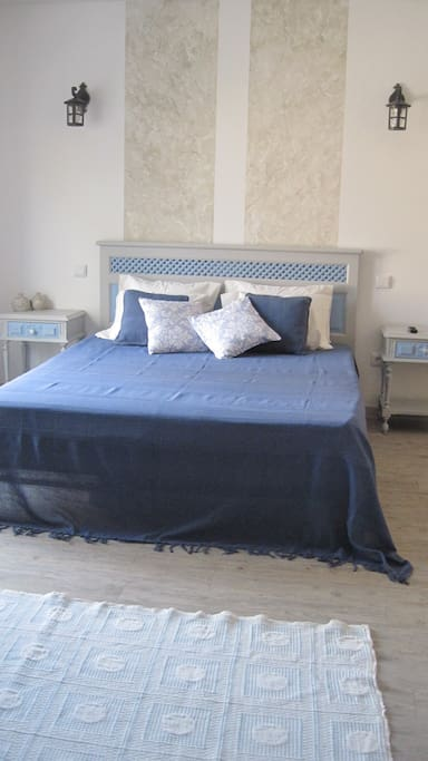 Uma suite espaçosa, para que os filhos possam descansar ao seu lado, sem preocupações.