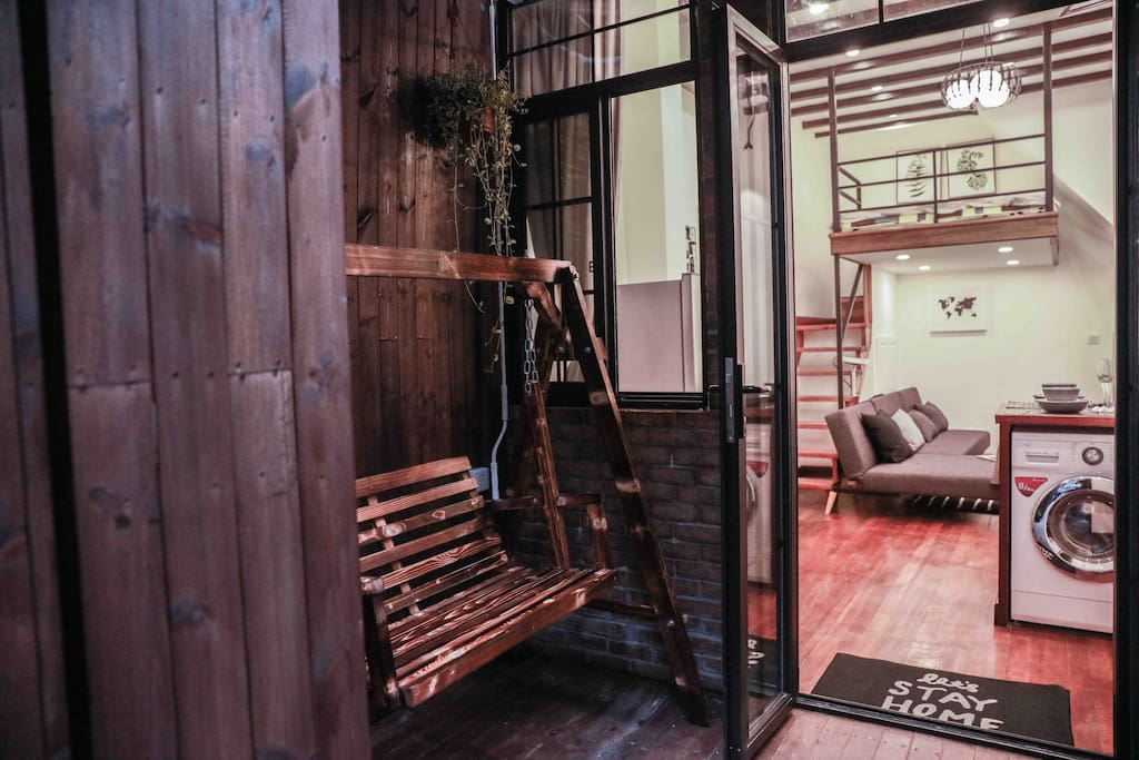 独棟LOFT 庭院帶秋千 | Independent portal building, outside the yard with a swing
