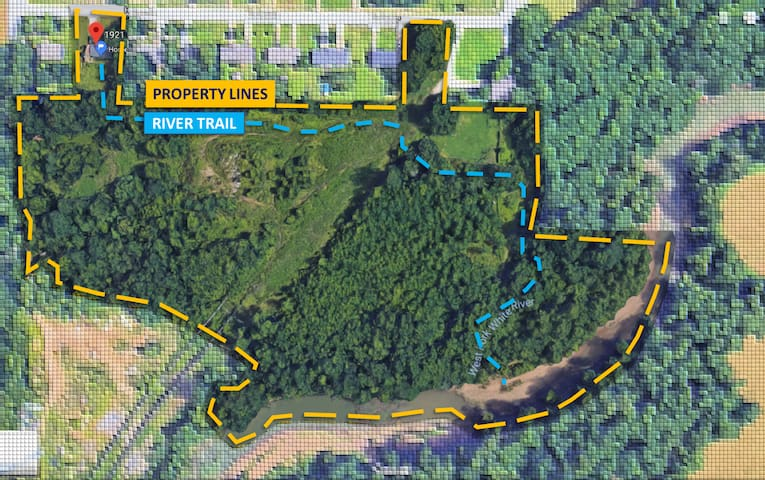 3BR ★ 14 acres land & river access ★