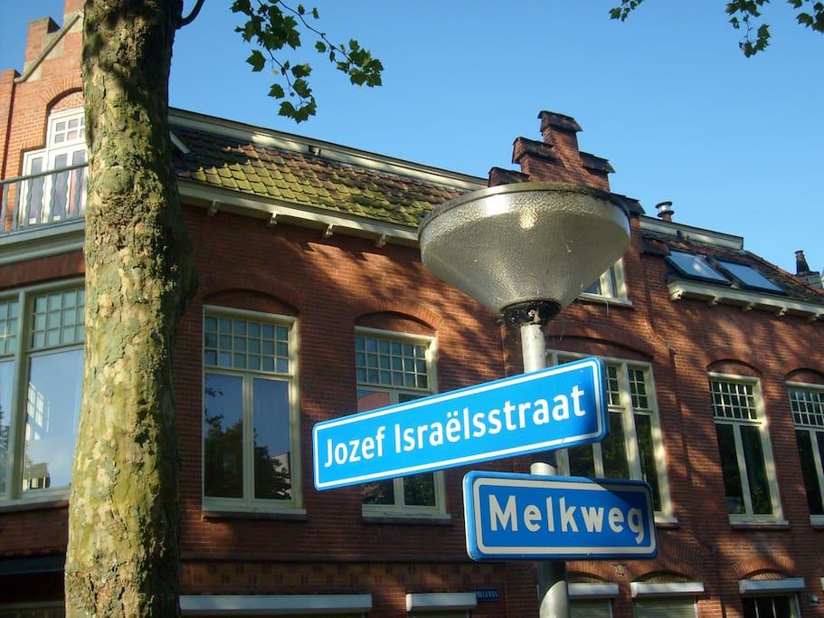 City oasis in the center of Groningen