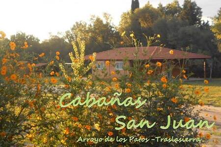 Cabañas San Juan Traslasierras - Córdoba