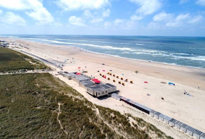 Beach of Egmond. 13 km from house. Beautiful beaches and dunes!