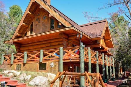 chambre d'hote dans maison  bois ro - Val-David