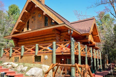chambre d'hote dans maison  bois ro - Val-David - Bed & Breakfast