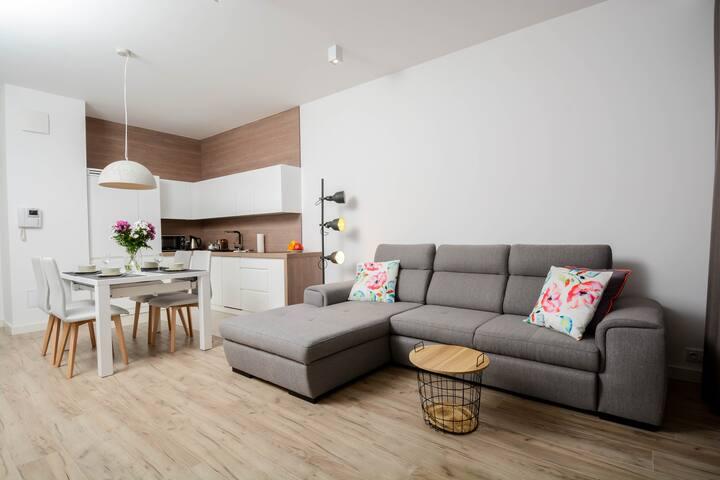 Deluxe Apartment Obrzeżna 1F
