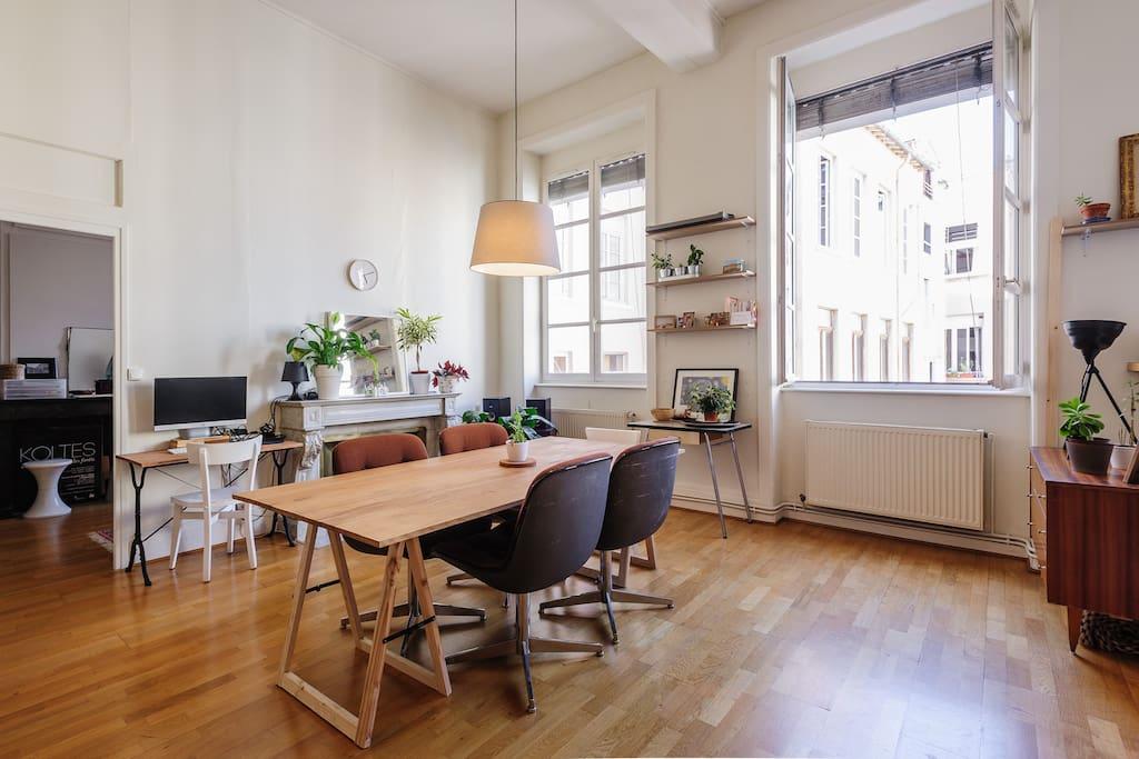 Appartement lyon croix rousse appartements louer for Appartement original lyon