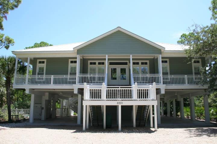 Respite in The Plantation on St. George Island
