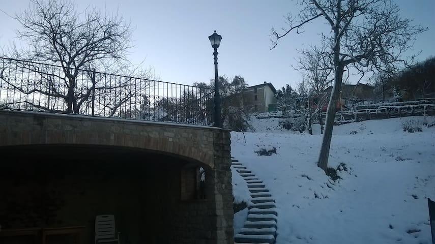 Terrazzo d'inverno