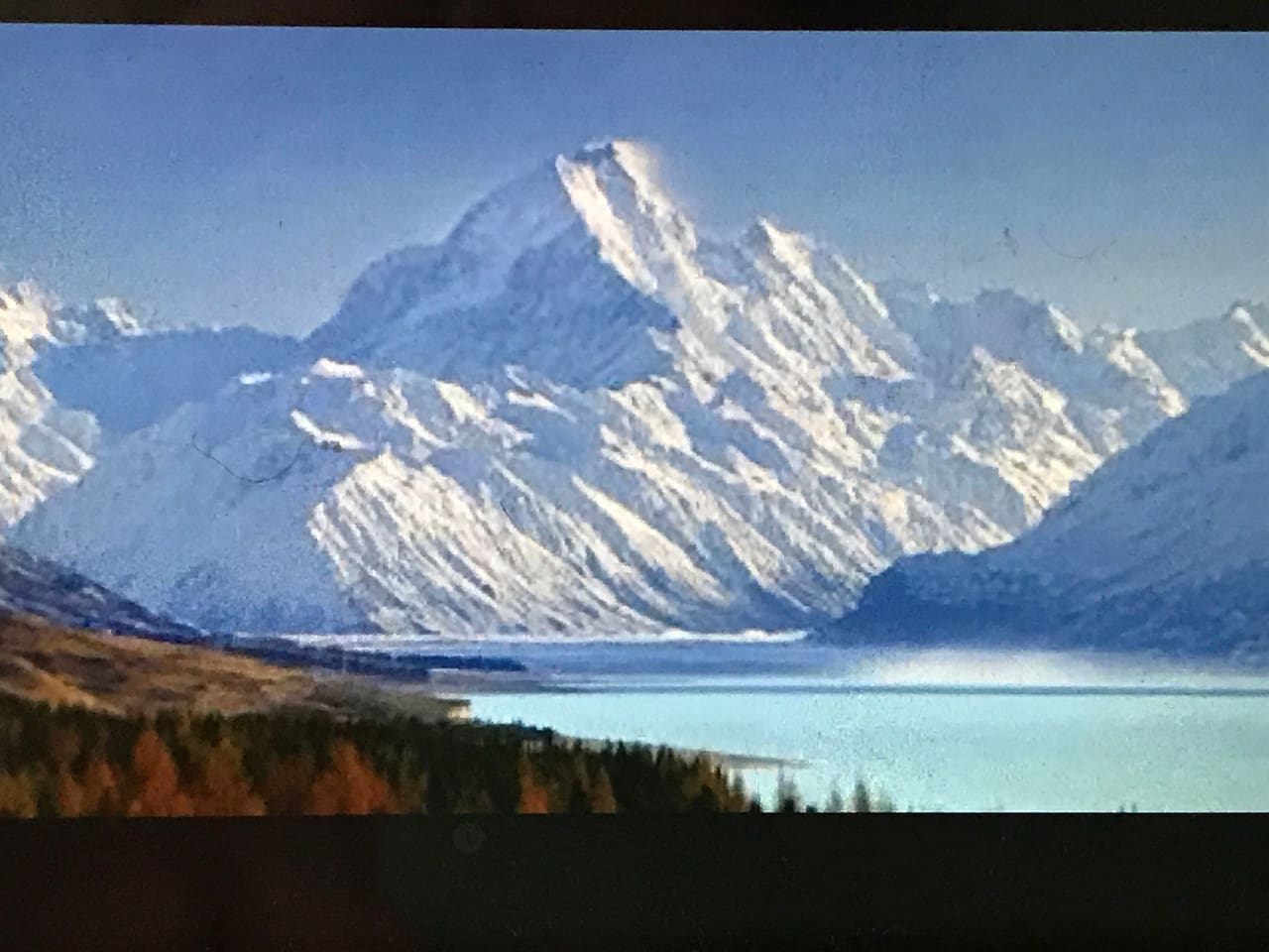 Mount Cook .