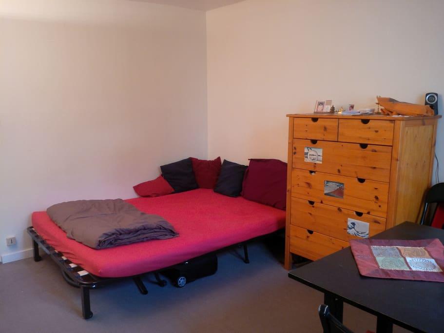 Studio/Living space
