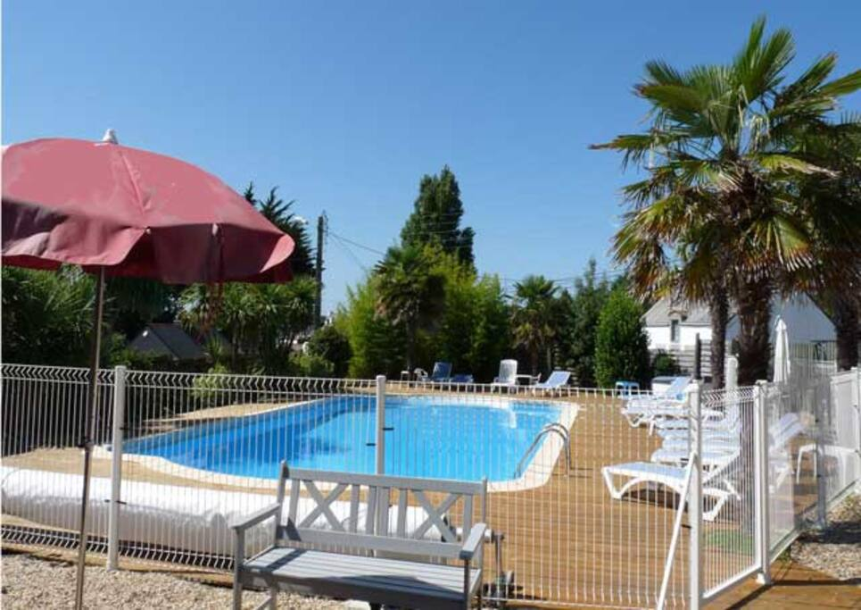 Chambre climatis e piscine plage chambres d 39 h tes - Chambre d hotes avignon piscine ...