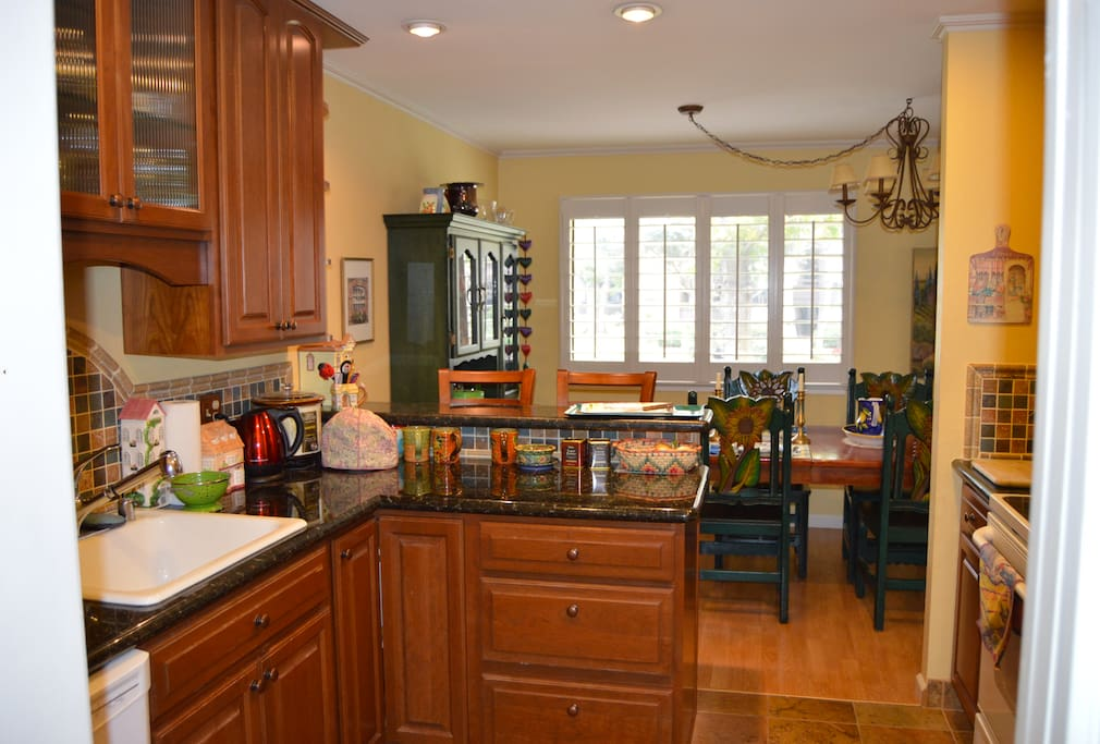 Kitchen with Ample Counterspace