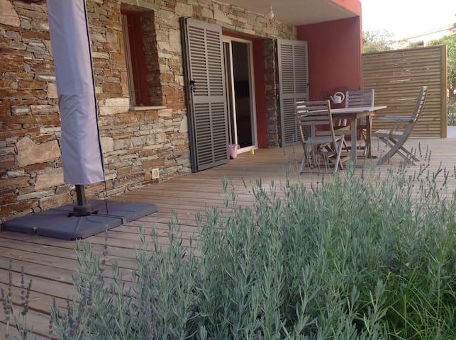 Erbalunga cap corse f2+ jardin  - Brando - Apartment