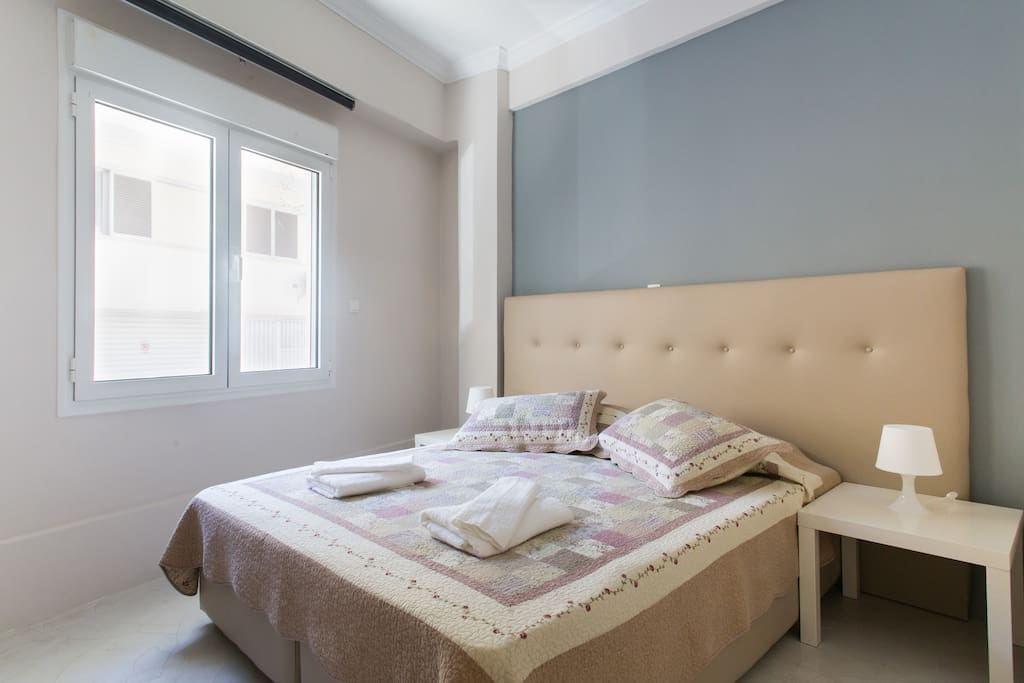 Newly bought beds,matresses.pillows and always fresly washed linnens to ensure the maximum of rest douring your stay!