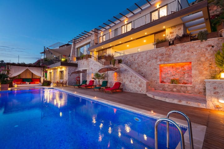 SPECİAL 5 Bedroom LUXURY Villa - Kaş  - Вилла