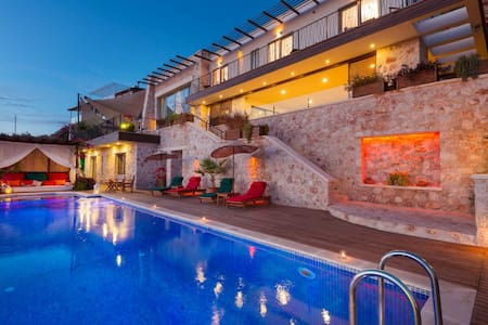 SPECİAL 5 Bedroom LUXURY Villa - Kaş  - Casa de campo
