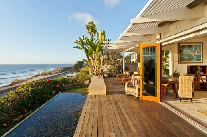 Gorgeous Del Mar Oceanfront Cottage - Del Mar - Casa