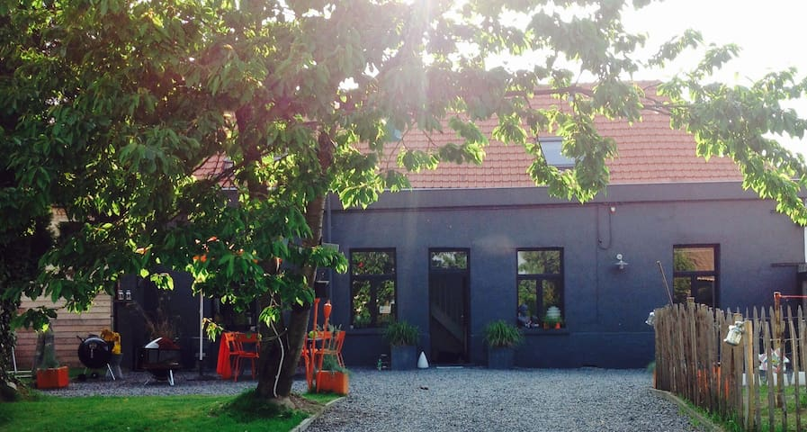 Magnifique maisonnette avec piscine - Tournai - Casa