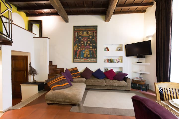 Charming Pantheon Apt in the heart of Rome! WiFi - Roma