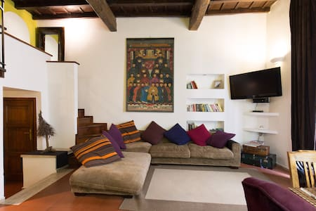 Charming Pantheon Apt in the heart of Rome! WiFi - Roma - Appartamento