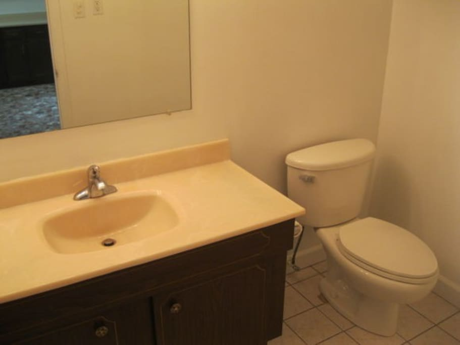 Downstairs room in a 3 br townhome townhouses for rent for Adjustment bureau bathroom scene