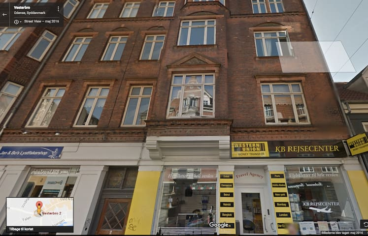 Great apartment in the middle of Odense City. - Odense - Apartment