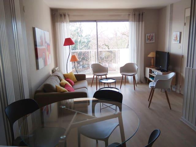 Appartement 2 pièces à 50 m de la plage de Nauzan