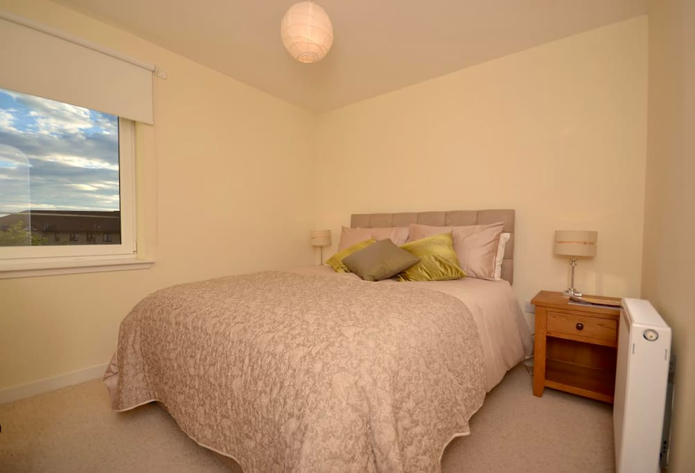 Comfortable master bedroom, peaceful and restful