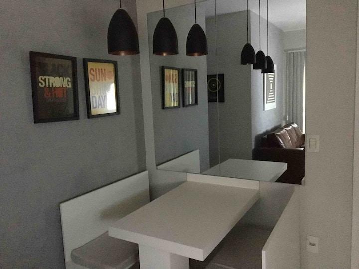 Apartamento com mobília nova