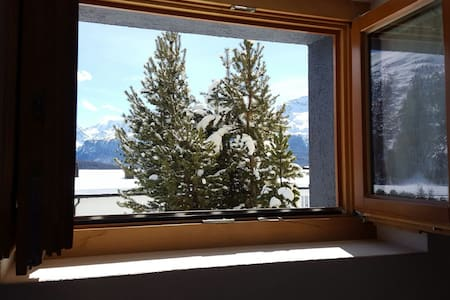 Studio of 25m2 in Engadine style - Samedan - Pis