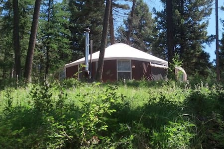 Spencer  Mountain Solar Yurt - Yurta