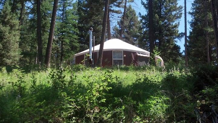 Spencer  Mountain Solar Yurt