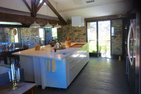 Large converted Wine Barn