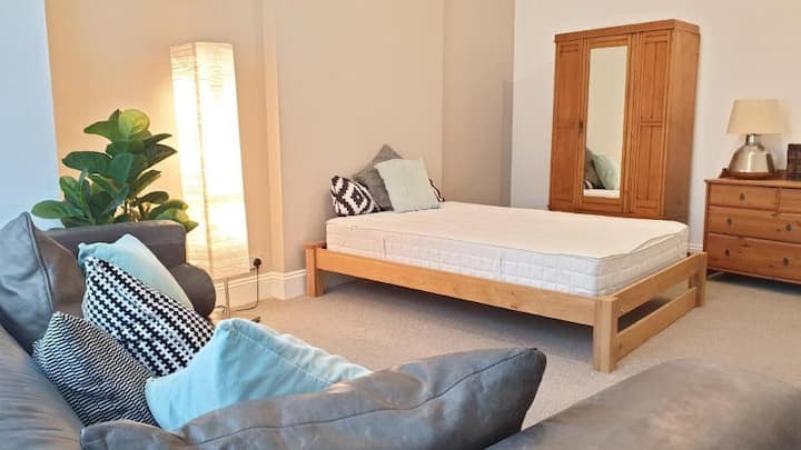 Large room in newly renovated Edwardian house