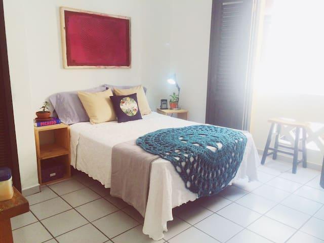 Private Room w/Balcony@Old San Juan - San Juan - Lägenhet