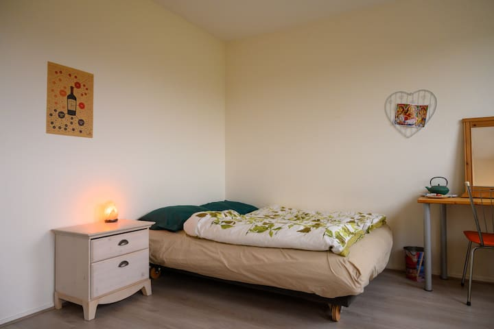 Moderne lichte kamer