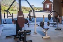 Enjoy a free workout