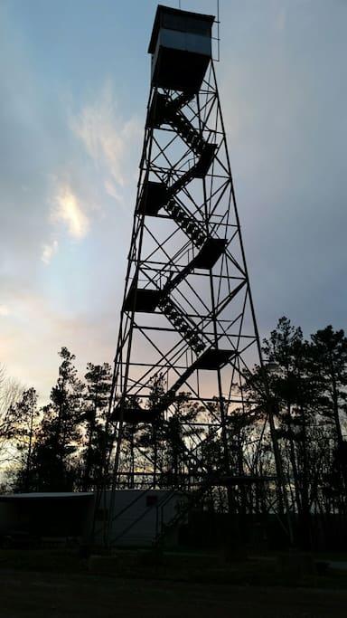 100' firetower on the Farm