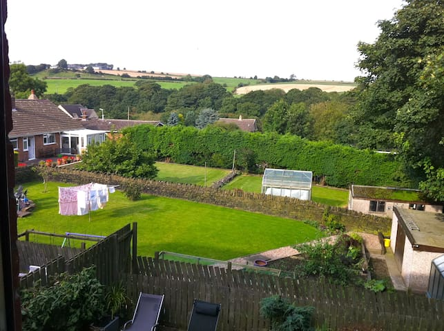 Double Room, Bathroom Country Views - Penistone - Dom