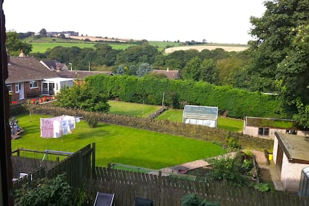Double Room, Bathroom Country Views - Penistone - House