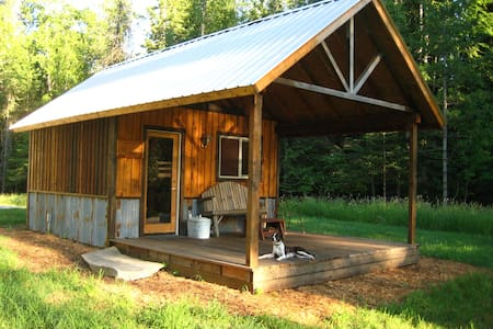 Camping cabin in country setting - Srub
