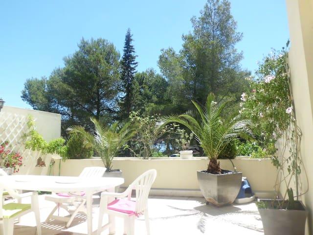 T4 tres agréable et bel appartement - Martigues - Apto. en complejo residencial