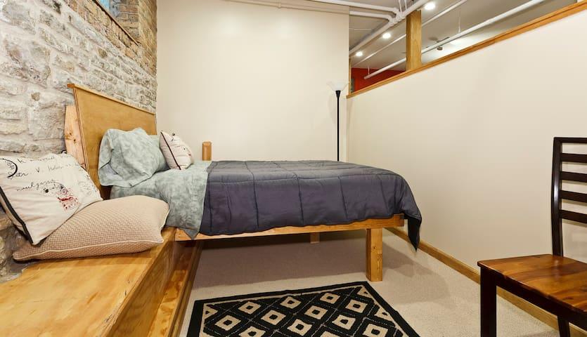 Second bedroom.  Semi-private.