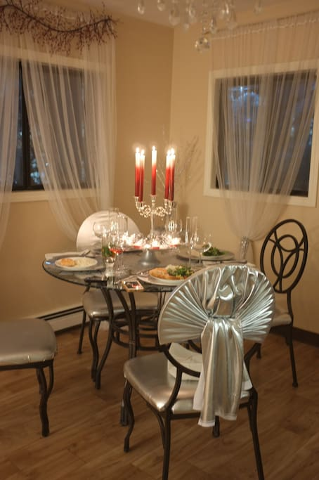 Dining Room during Christmas