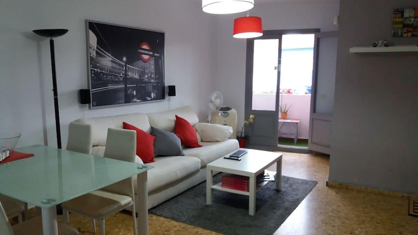 Apartamento Primera Planta, a un paso de la Playa