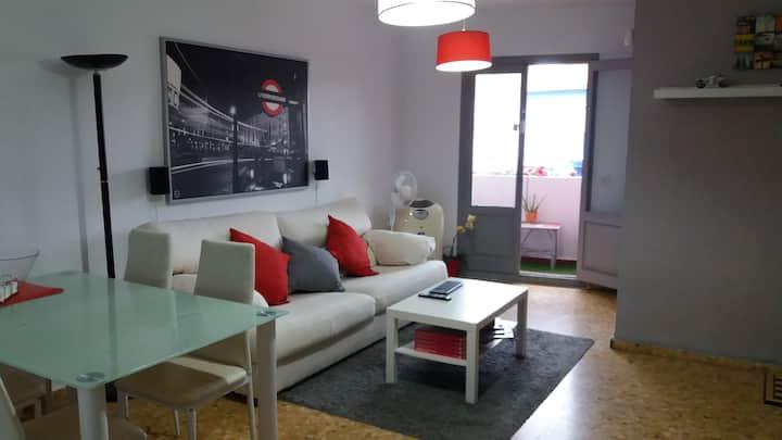Apartamento en la playa + Material Deportivo