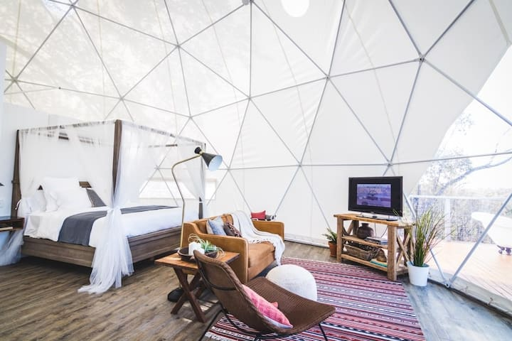 Faraway Domes