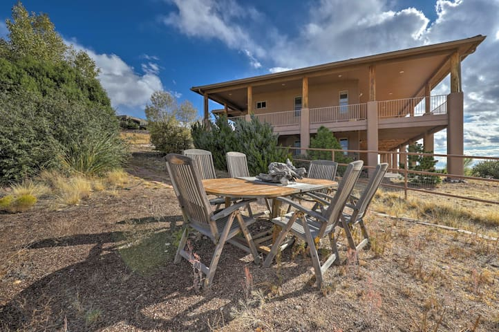 NEW! Mtn-View Prescott Paradise, Great for Groups!